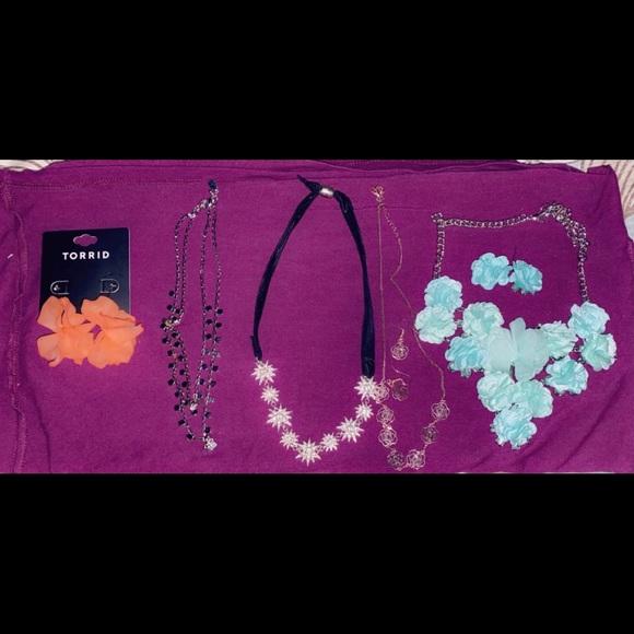 Necklace and Earring lot